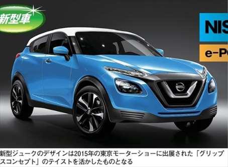【2018】新型ジューク 最新フルモデルチェンジ情報まとめ【日産自動車】